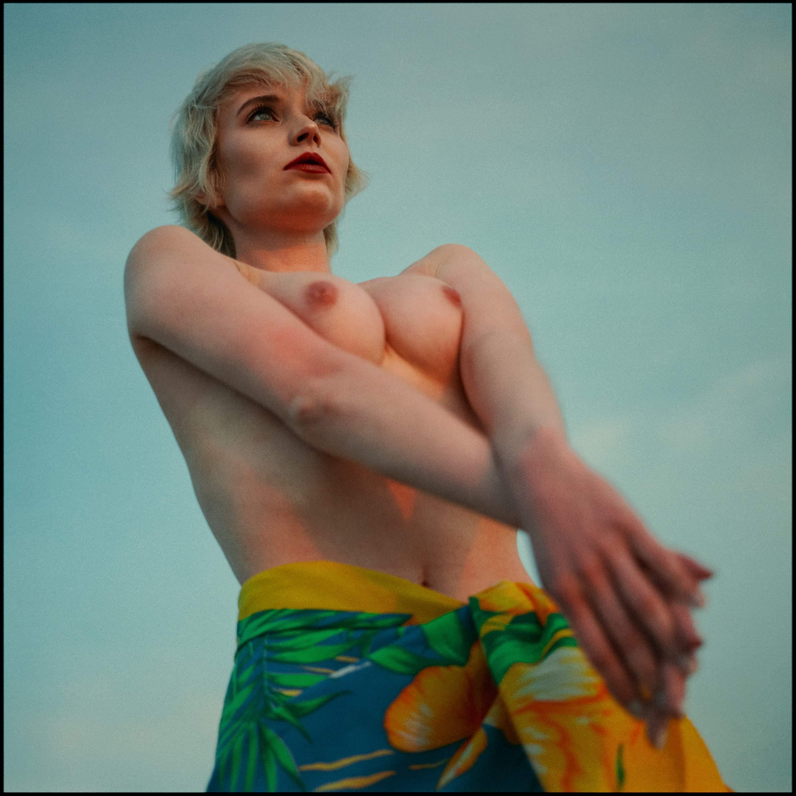 Aleksandra in colors nude art by lukasz_spychala_5