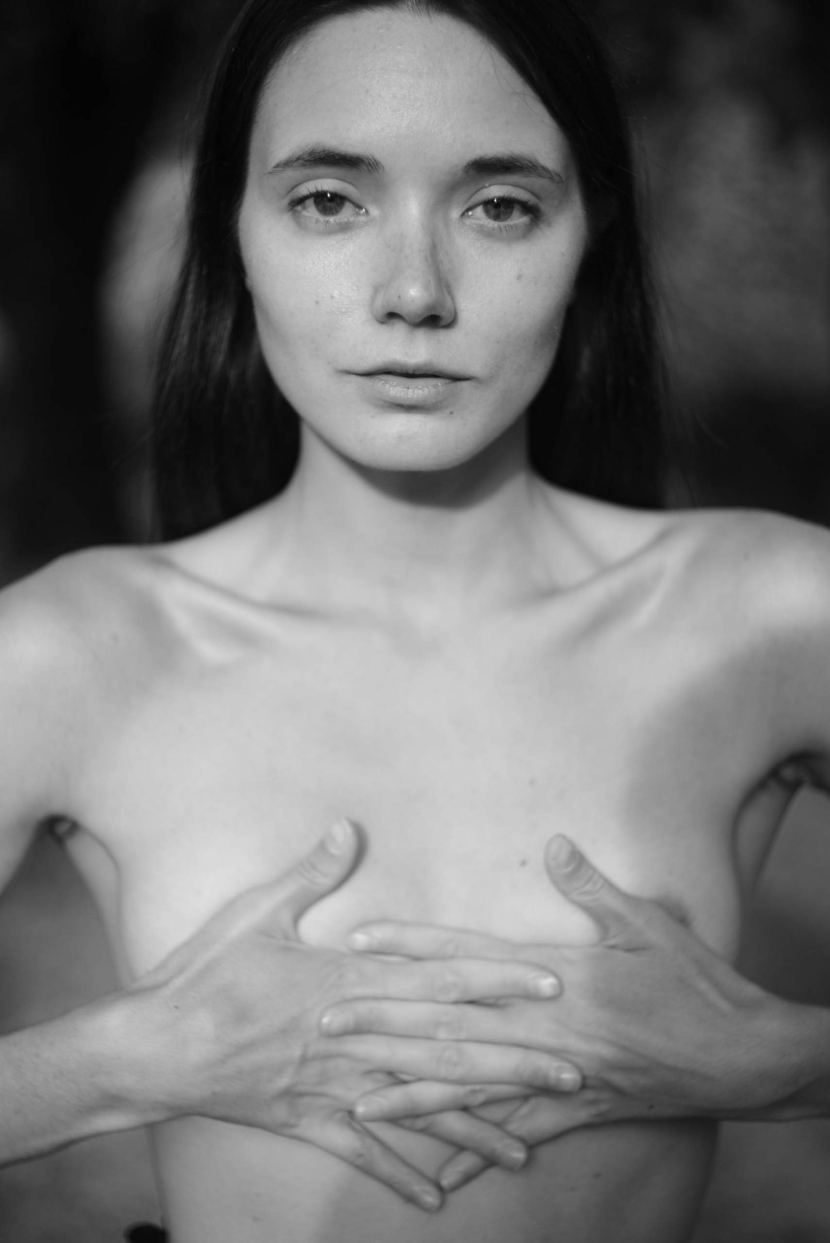 Nude art story in black and white